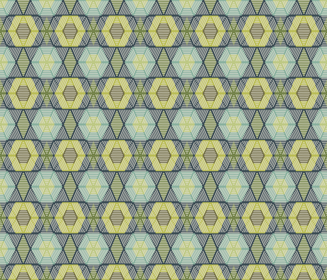 Pollen Mint fabric by kathyjuriss on Spoonflower - custom fabric