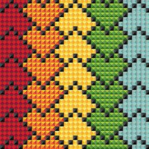 kaleidoscope_heart_rainbow_stripes_on_black