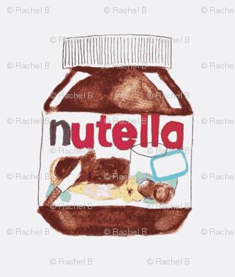 Nutella Watercolor