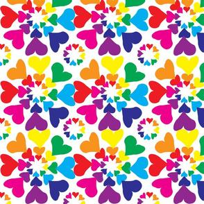 Rainbow Hearts 1