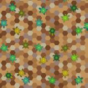 hexagon-turtles