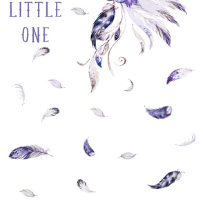 "3 YARDS / 56""X108"" PURPLE HEADDRESS WITH QUOTE"