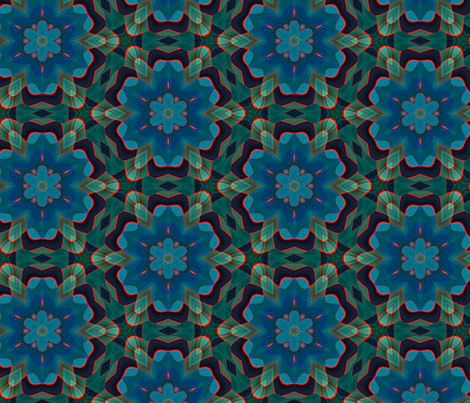 GRAPHIC FLORAL_1 fabric by jennon on Spoonflower - custom fabric