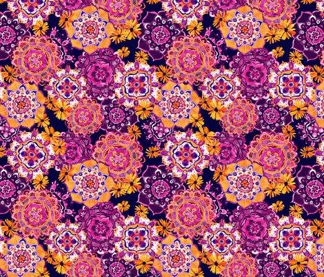Mandala_medley_orange_purple10inch150dpi_shop_preview