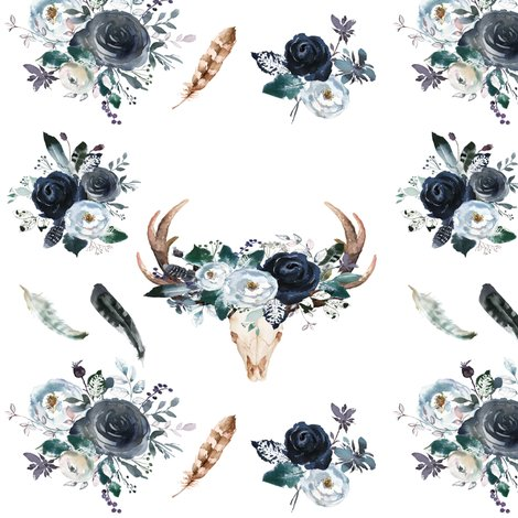 Rboho_deer_head_florals_shop_preview