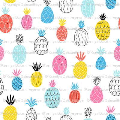 Fun pineapples