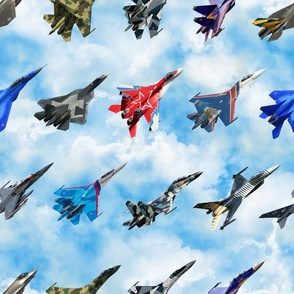 Fighters Above Jets