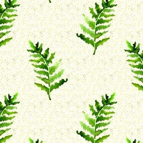 Fern with dots