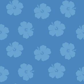 Hibiscus Blue