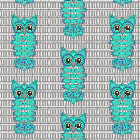 Who's Stopping You! Ori  fabric by franbail on Spoonflower - custom fabric
