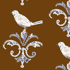 Chocolate Garden Bird