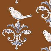 Chocolate Garden Bird