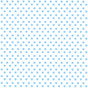 Polka Light Blue Dots on White Background