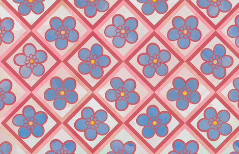 Pink Leadwort Flowers fabric by jvclawrence on Spoonflower - custom fabric