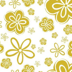 Oopsy Daisy - goldenrod