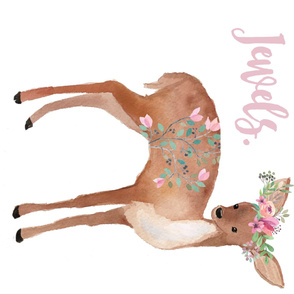 """56"""" x 36"""" MINKY / She is Far More Precious Quote / Sweet Deer / 90 degrees"""