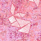 pink bunny tangrams