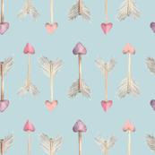 Arrow Pattern - Cupid's Arrow