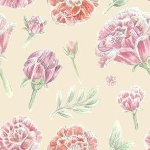 Rose Pattern - Cupid's Arrow