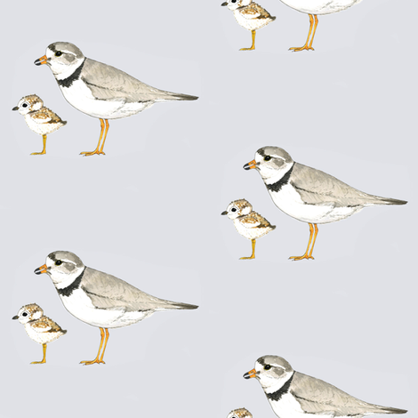 Dark Plover fabric by toreywahlstrom on Spoonflower - custom fabric