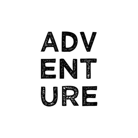 "adventure quilt block (8"") fabric by littlearrowdesign on Spoonflower - custom fabric"