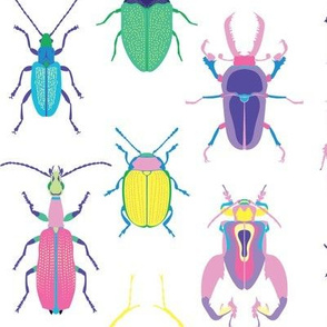 Pop Art Beetles Light Big