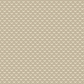 Half Moon Beige Folk Polka Dot Lemon Tree_Miss Chiff Design