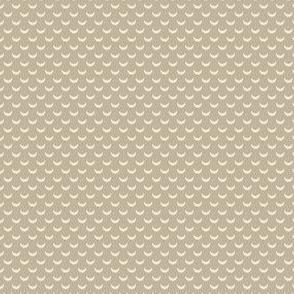 Half Moon Beige Folk Polka Dot Lemon Tree_Miss Chiff Design