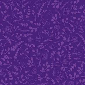 Botanical –Purple