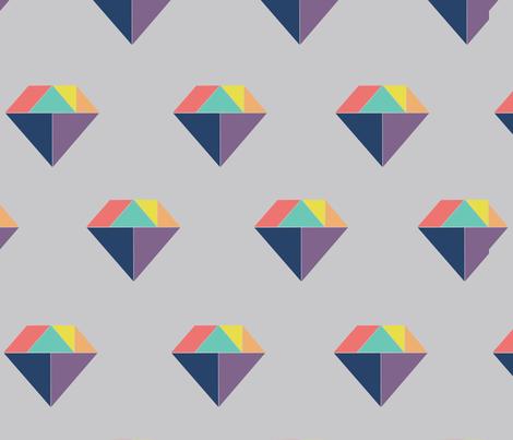 tangramdiamondsmall fabric by sisterswhatfabric on Spoonflower - custom fabric