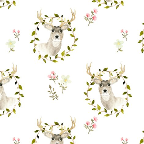 Rwatercolor_deer_and_floral_pattern_2-02_shop_preview