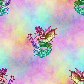 Emily Haddyr Presents ~ Dragon Dance ~ Opal
