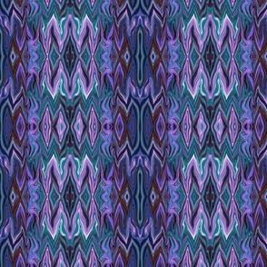 Digital Dalliance, purple and blue