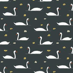 White Swans Pattern