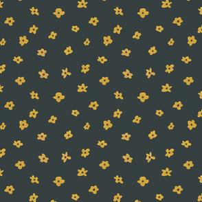 Flower Pattern (mustard)
