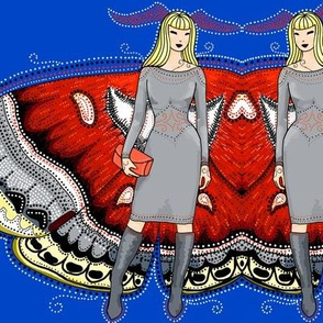 Cecropia moth fairy