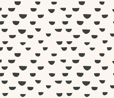 Half Moon Pattern fabric by melissa_boardman on Spoonflower - custom fabric