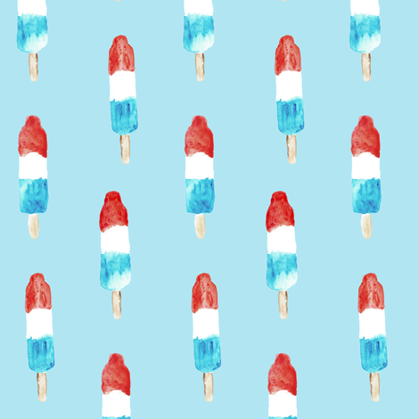 bomb pops  fabric by littlearrowdesign on Spoonflower - custom fabric