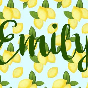 Lemons - Emily