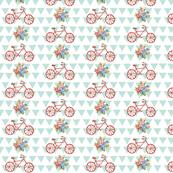 bike rose -seafoam