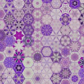 Snowcatcher Lavender Ocean Hexies