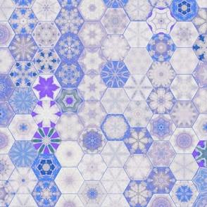 Snowcatcher Blue Ocean Hexies