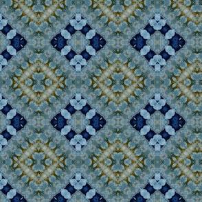 Indigo blue diamonds