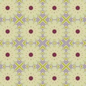 Blossoms on lavender