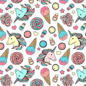 Unicorns and sweets