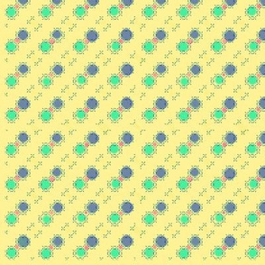 yellow dots