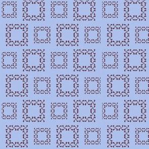 periwinkle squares
