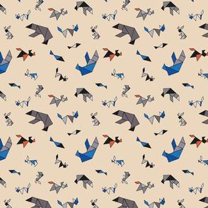 Fun with Tangram Animals