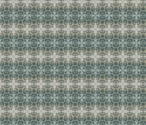 Faded denim India print fabric by northbloom on Spoonflower - custom fabric