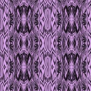 Digital Dalliance, Black with Lavender